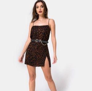 Nwt motel rocks datista dress oversize Jaguar